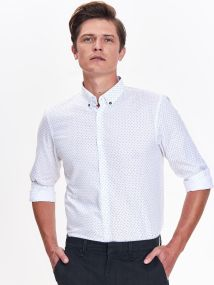 TOP SECRET TOP SECREΤ slim fit πουκαμισο
