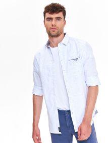 TOP SECRET TOP SECRET slim fit πουκαμισο