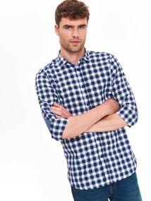 TOP SECRET slim fit καρο πουκαμισο - 257372