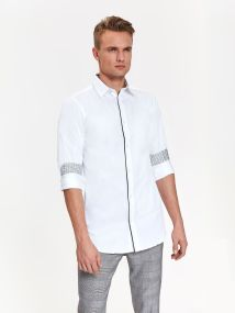 TOP SECRET top secret ανδρικο πουκαμισο slim fit