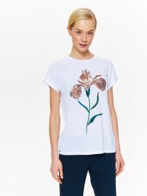 TOP SECRET TOP SECRET t-shirt με κεντημα