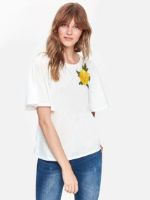 df26f2317b TOP SECRET TOP SECRET t-shirt με κεντημα