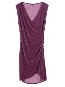 TOP SECRET top secret βελουδινο φορεμα