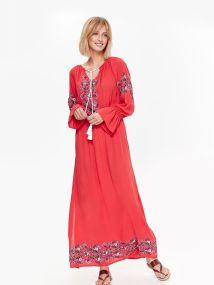 TOP SECRET maxi φορεμα boho style