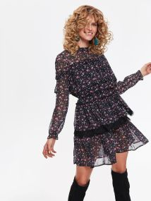 top secret μινι φλοραλ φορεμα