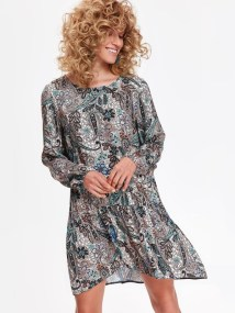 top secret φορεμα με print