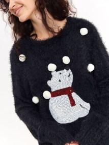 TOP SECRET χριστουγεννιατικο πουλοβερ