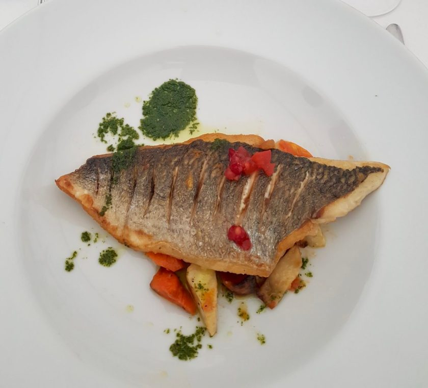 PlayBrave Main - Grilled Fish With Vegetables