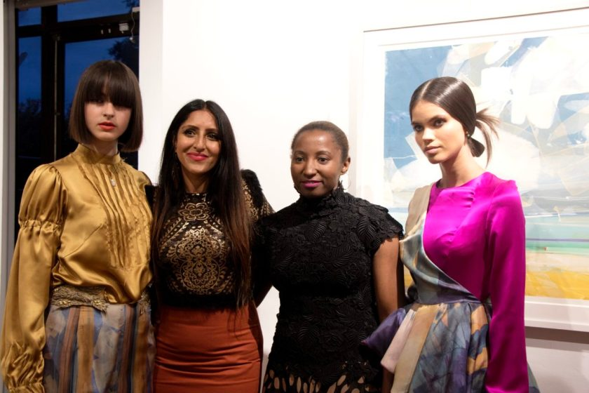 Siah Howard L'Atelier Couture at the Bankside Gallery.