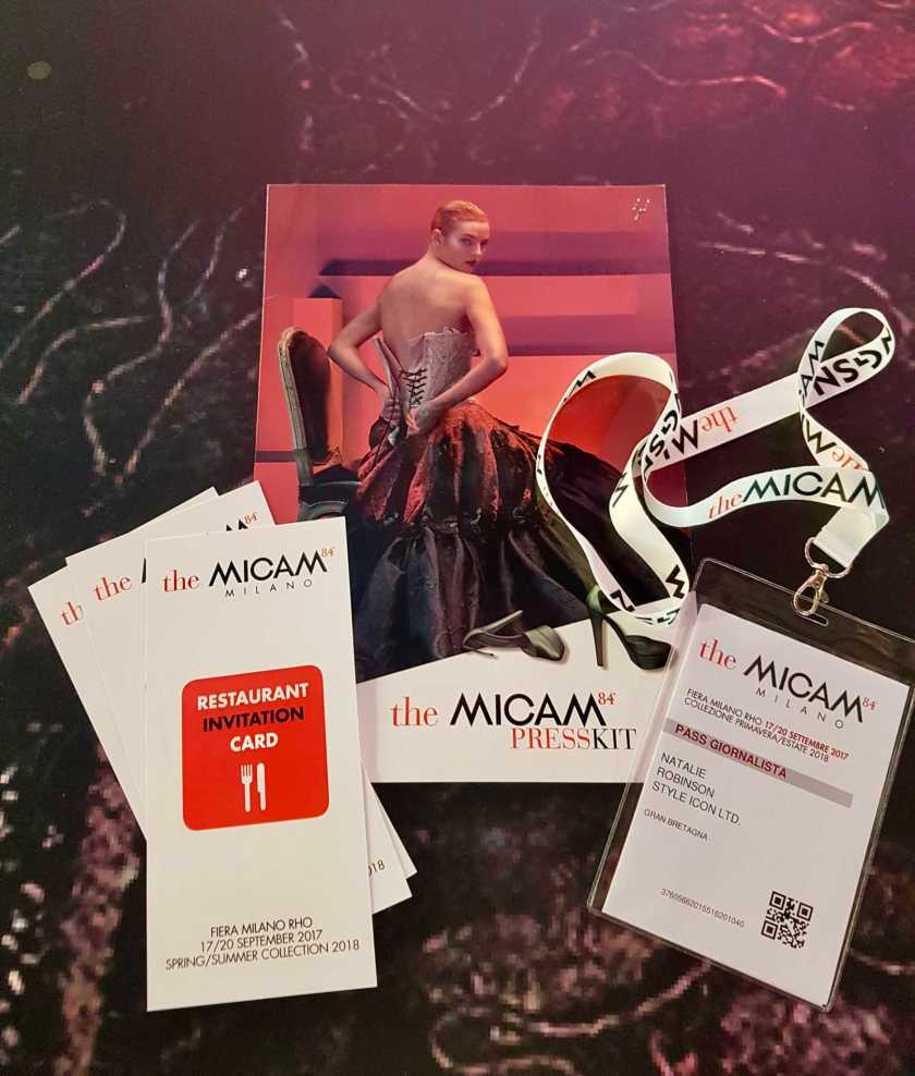 the micam welcome pack