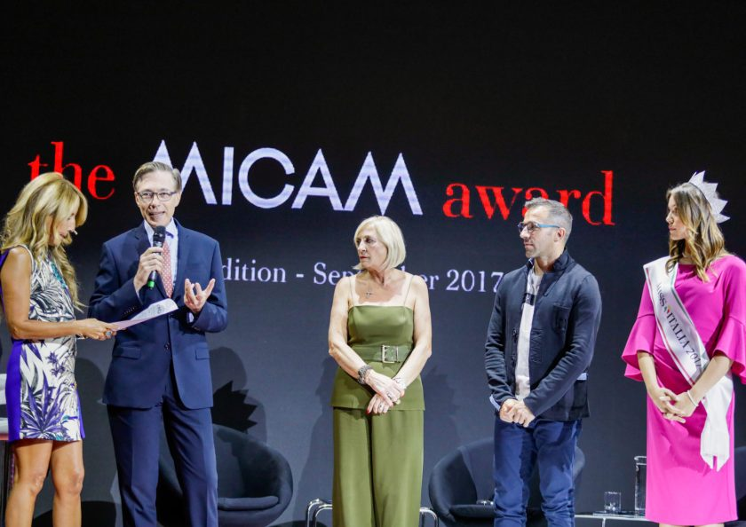 The MICAM award ceremony