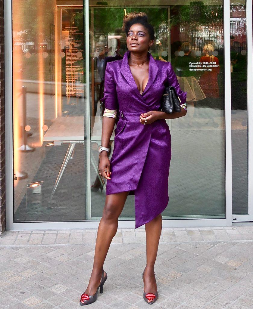 Nico Didonna 'Bardot' Dress