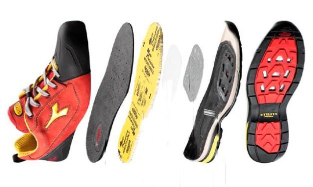 Sistema de respiración Net en zapatos Utility de Diadora