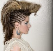 fantastic braided mohawks