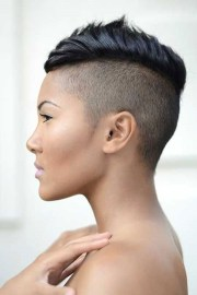 of shaved side hairstyles