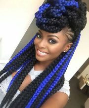 sophisticated box braid hairstyles