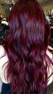 gorgeous burgundy hairstyles