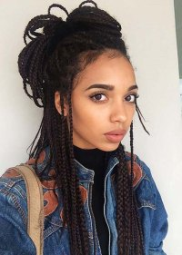 55 of the Most Beautiful Jumbo Box Braids to Inspire Your ...