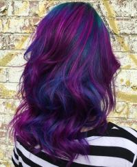 44 Incredible Blue and Purple Hair Ideas That Will Blow ...