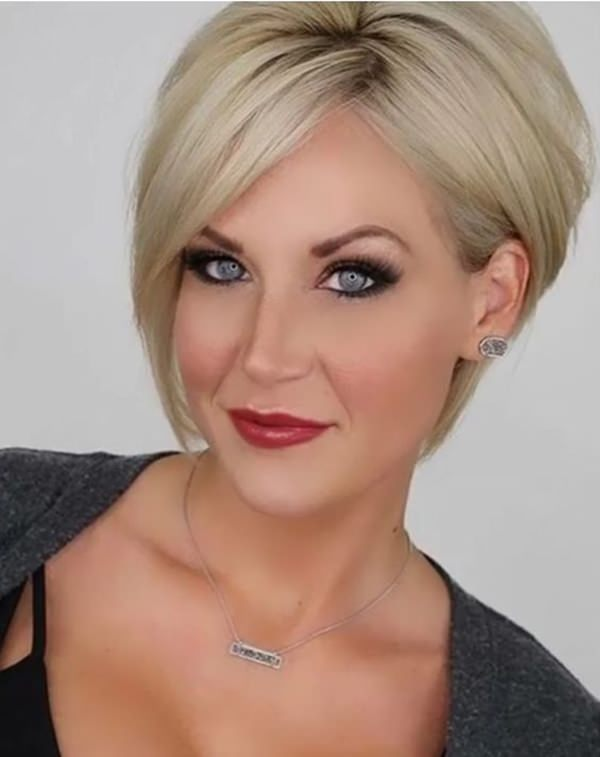 Image Result For Short Haircuts For Round Faces And Fine Hair