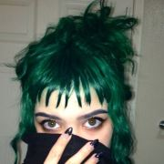 stunning green hair ideas