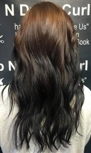 hot reverse ombre shades