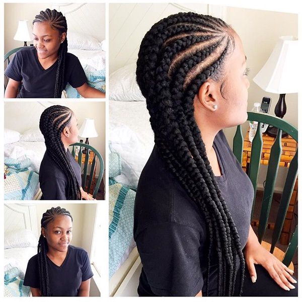 Gorgeous braid style feed in braid hairstyles. - 51040418 feed in braids - Ladies: Choose From These Gorgeous Feed in Braid Hairstyles for your New Look