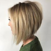 charming stacked bob hairstyles
