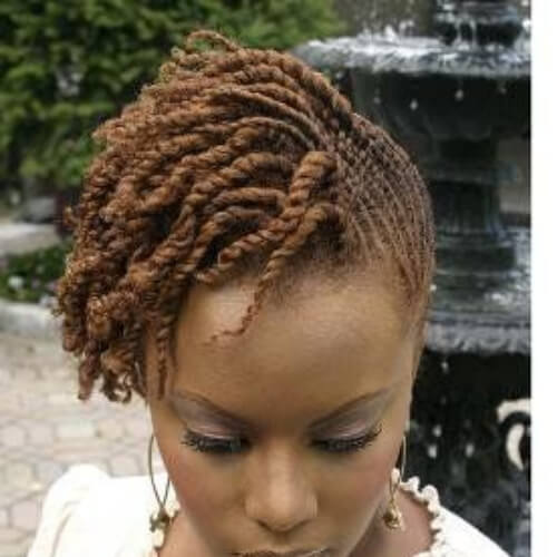 84 Sexy Kinky Twist Hairstyles To Try This Year
