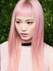 striking pink hair colors