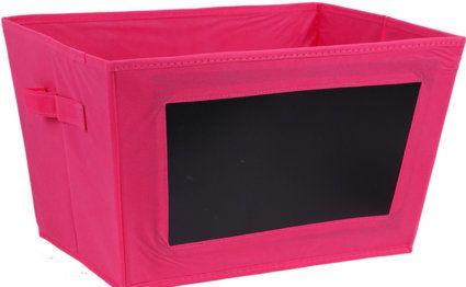 Aufbewahrungsbox Kiste mit beschreibbarer Kreidetafel in Verschiedenen Farben online kaufen