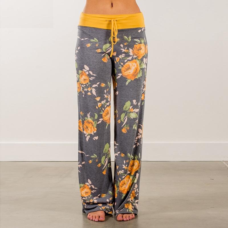 c522487a8c Floral Wide Leg Trousers   Style Limits