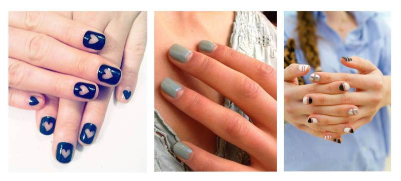 Nail Trend: The Negative Space Mani