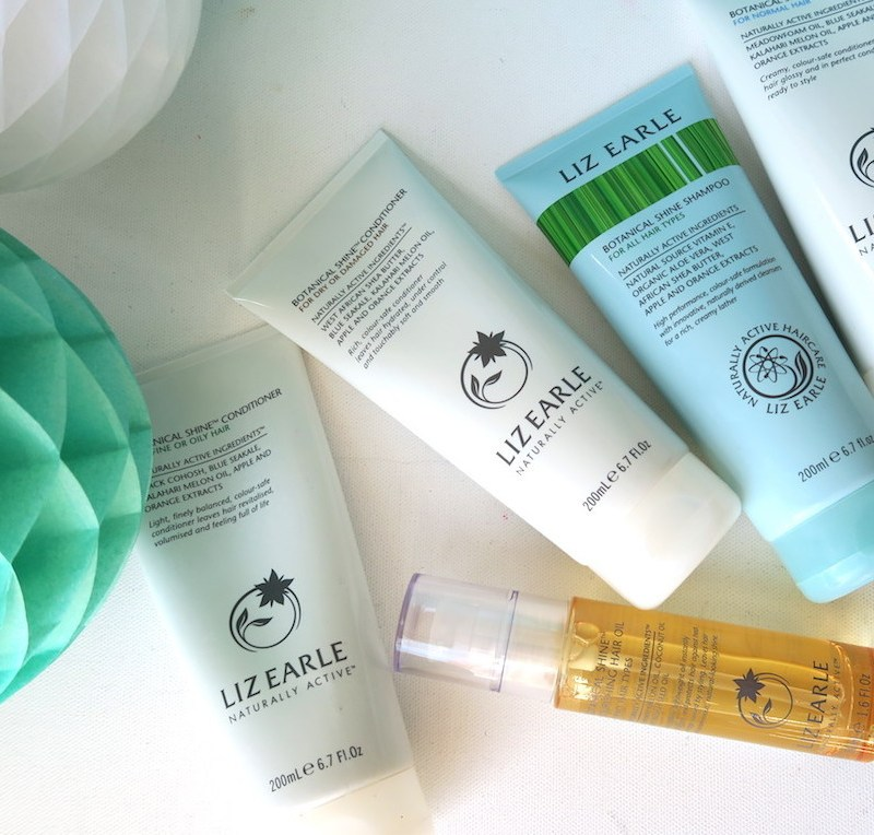 CURRENTLY LOVING: LIZ EARLE'S REFORMULATED BOTANICAL SHINE HAIRCARE