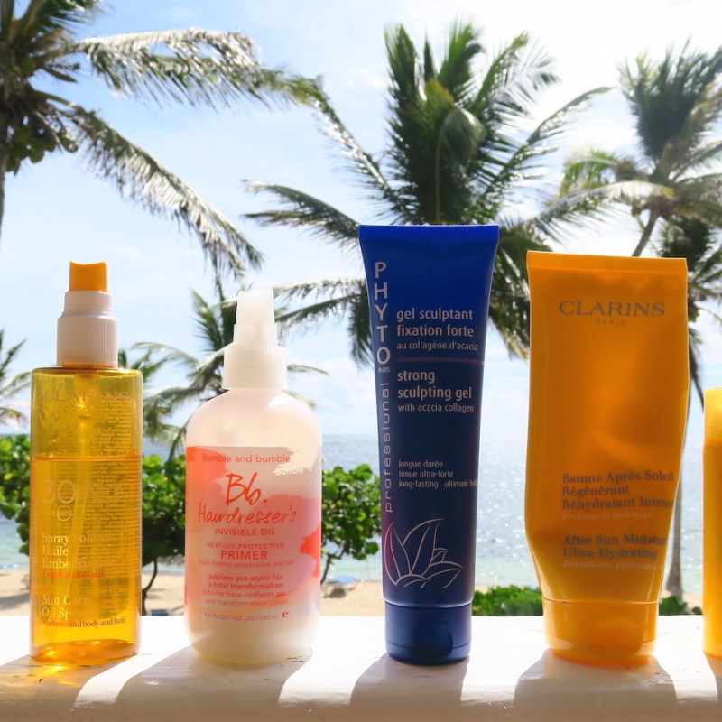 HOLIDAY BEAUTY ESSENTIALS: HAIR, SUN & SKINCARE