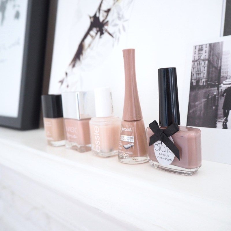THE ULTIMATE NUDE NAIL LINE UP