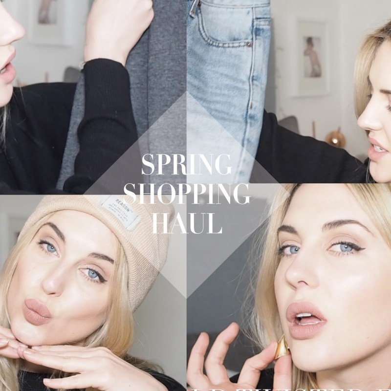 SPRING SHOPPING HAUL & TRY ON: ASOS, URBAN OUTFITTERS & TOPSHOP