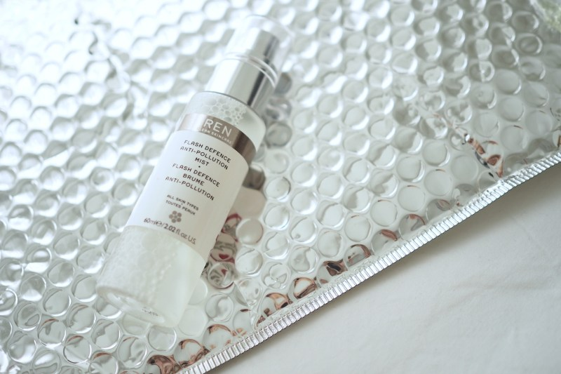 ON TRIAL: REN'S FLASH DEFENCE ANTI POLLUTION MIST
