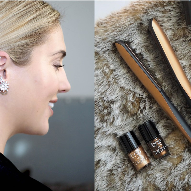 GET THE LOOK: A SLEEK TWISTED CHIGNON WITH GHD