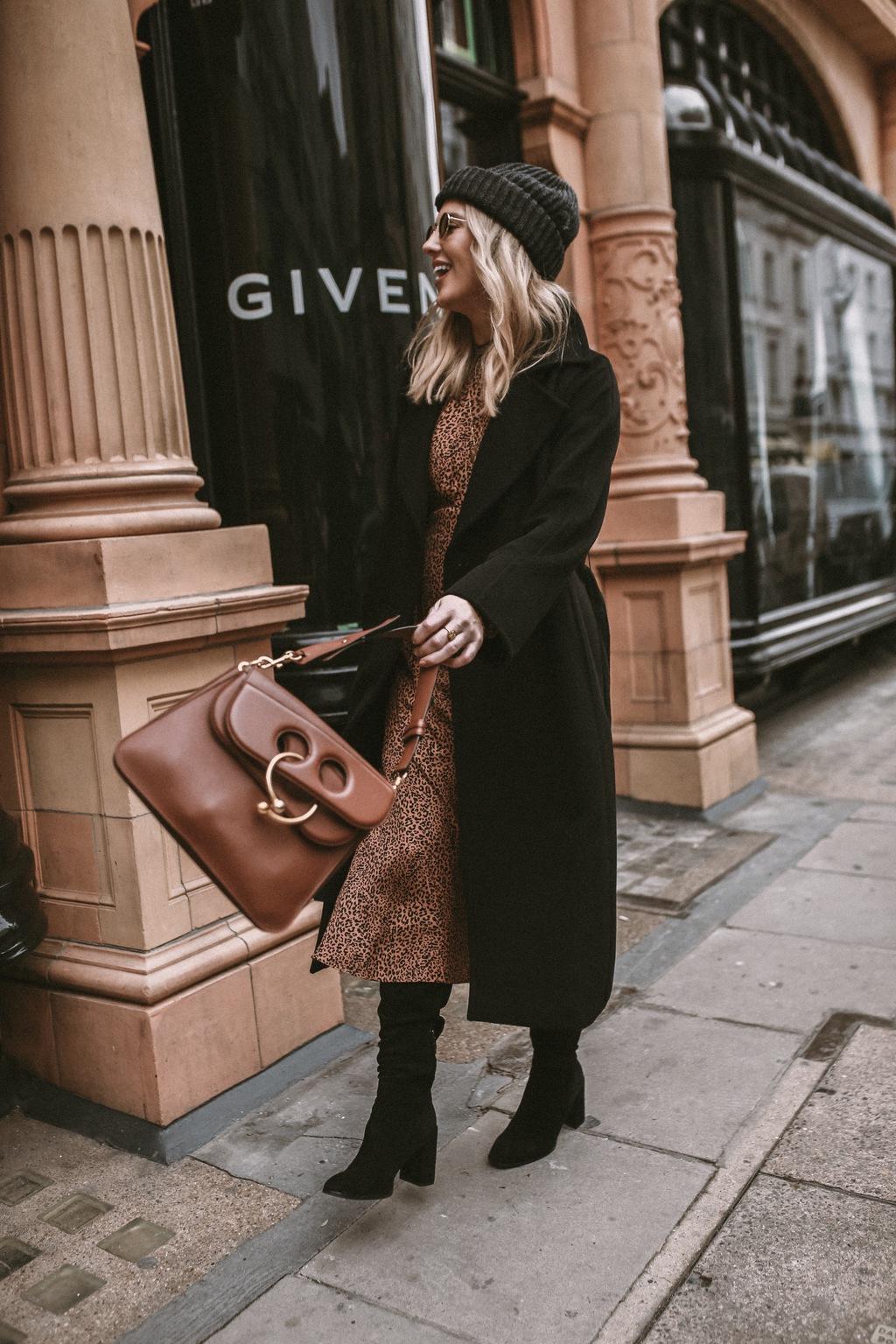 black designer coats womens
