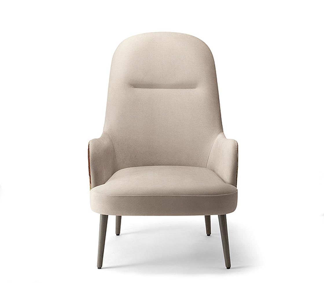 Da Vinci 05 High Back Lounge Chair  Style Matters