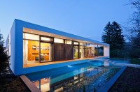 10 Modern Houses With Integrated Pools - Style Motivation
