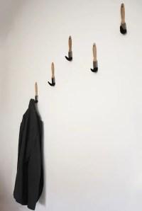 8 DIY Wall Hook Ideas - Style Motivation