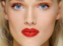25 Glamorous Makeup Ideas with Red Lipstick - Style Motivation
