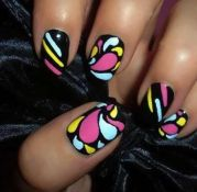 cool colorful nail art ideas