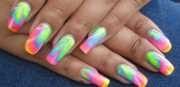 crazy summer nail design ideas