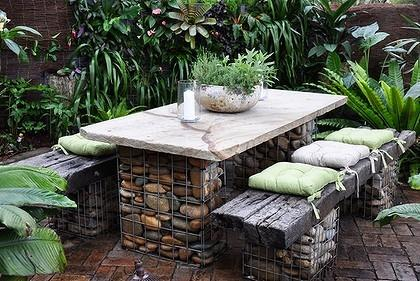 20 Amazing Gabion Ideas For Your Outdoor Area Style Motivation