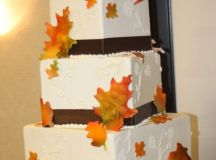 24 Great Ideas for Fall Wedding Cake Decoration - Style ...