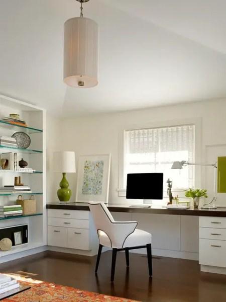 simple home office design ideas 20 Amazing Home Office Design Ideas - Style Motivation