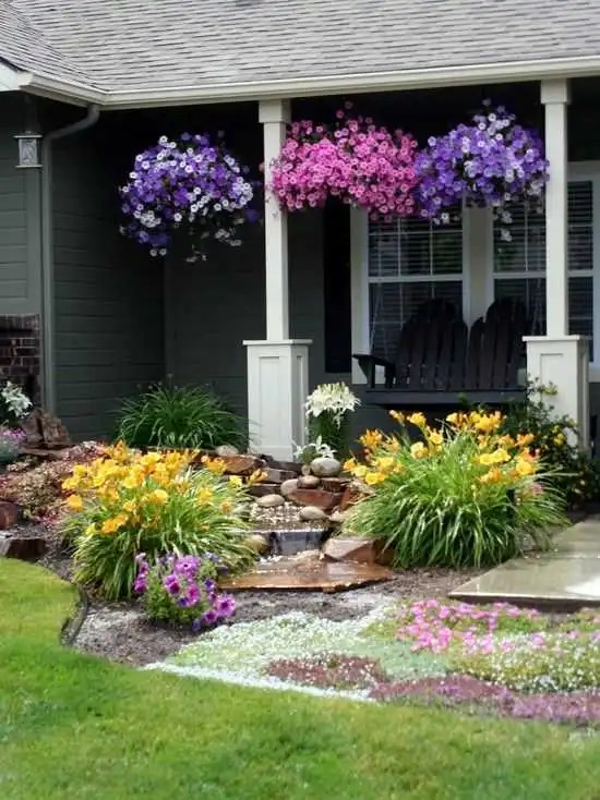 beautiful small front yard garden